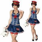 Betty Boop Sailor Costume Lincensed Vinatge Halloween Wear XS S M L $49.14 AUD on eBay