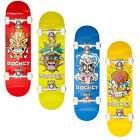 "NEW ROCKET COMPLETE MINI TIKI SERIES ABEC 5 WHEEL 7.5"" SKATEBOARD READY FOR RIDE"