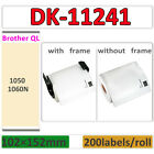 Roll Label DK-11241 Brother Compatible QL-1050 1060N Self Adhesive 102 x 152mm