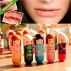 HO AU 1 x 6 Flavors Lovely Pure Natural Women Baby Lip Balm Lipstick Moisturizer