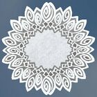 """Round cream or white lace Table Mat/Doily/Napkin/Tablecloth Ø70cm(28"""") polyester"""