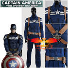 Captain America 2 The Winter Soldier Steve Rogers Cosplay Costume Any Size