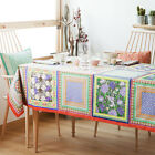 ZARA HOME NEW COLLECTION 2014. PLANT PRINT COTTON TABLECLOTH.