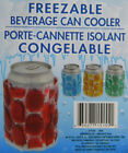 NEW * Freezable Beverage Can Cooler Chiller Koozy