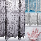 Victoria Lace Curtain ~ Boutique Damask Design ~ Sold By The Metre ~ Net Voile
