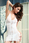 2014 Electric Lace and Mesh Chemise with Garter Sexy liingerie hot babydoll