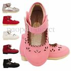 Girls Infant Children Kids Wedding Bridesmaid Party Synthetic Casual Shoes 3-7