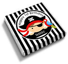 Personalised Pirate Boy's Black Stripe 1st 2nd 3rd Birthday Favour Chocolates