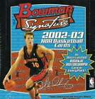 2002-03 (2003) Bowman Signature Basketball Sealed Box -6 Autographs in EVERY Box