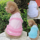 CHEAP! Cute Female Pet Dog Apparel Clothes Clothing Costume Vest Dress FREE SHIP