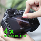 4 x Camera LCD Screen Protector Guard For  SONY Cameras