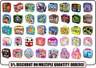 Official Character Kids School Soft Insulated Lunch Bag Sandwich Box Xmas Gift