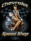 Chevy T-shirt - Chevrolet Speed Shop - Men's 100% Cotton Pre-shrunk