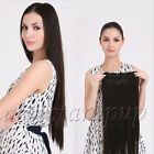 """Full Head Thicken Onepiece Five Clips in 100% Real Human Hair Extension 20""""-30"""""""