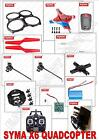 Syma X6 RC Drone QuadCopter Heli 2.4Ghz Radio System Helicopter PART SPARES X 6