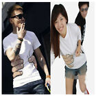 New Fashion 3D visual take hold of you Boysround neck Hands Tee Shirt