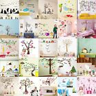 Cartoon Animals Kid Room Decor Wall Vinyl Stickers Art Decal Removable DIY Mural