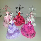 Fashion Ballgown Dress Mannequin Earring Necklace Jewelry Display Stand Holder