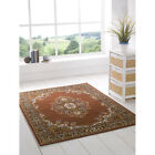 Luxury Traditional Rug – Beige Brown Carpet Mat Runner – Small - Large 8 Sizes