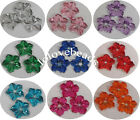 13mm Peony Flower Flatback Acrylic Diamond Rhinestone Scrapbook Decor DIY Craft