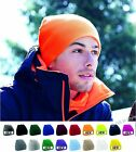 KNITTED BEANIE HAT PULL ON WOOLY WARM FOR WINTER SKIING MEN WOMEN PULL-ON UNISEX
