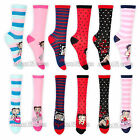 Womens Betty Boop Character Socks Size 4-7 1 Pair or Lot of 4 Pairs Assorted $10.5 CAD