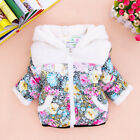 Baby Girl Clothes Winter Coat Kid Jacket Gown Snowsuit Kid Outwear with Zip Y1-4