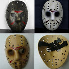 Friday the 13th Jason Hockey Horror Mask Voorhees Halloween movie Costume resin