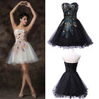 Summer Princess Wedding Prom Ball Gown Cocktail Evening Party Short Tutu Dress