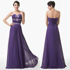 Noble Lady Formal Ballgown Evening Pageant Party Bridesmaid Dress Size 6 8 10 ++