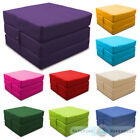 Waterproof Fold Out Cube Guest Z Bed Chair Stool Futon Chairbed Outdoor Garden