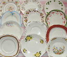 Vintage China Cake/ Bread & Butter Plates Mis Match Or Replacements