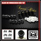 PRO CNC M5 5MM WINDSCREEN BOLTS KIT WINDSHIELD SCREW MOUNTING NUTS MOTORCYCLE
