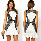 Sexy Womens Mini Lace Business Cocktail Party Pencil Wiggle Dress Pencil Dresses