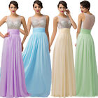 New Formal Long Evening Gown Party Prom Bridesmaid Dress Size 6 8 10 12 14 16