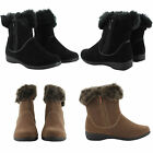 NEW LADIES CASUAL WINTER MILITARY ANKLE BOOTS HI TOP ZIP UP WOMENS UK SIZES
