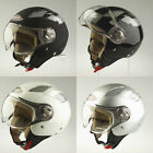 VIPER RS-16 OPEN FACE JET MOTORCYCLE MOTORBIKE SCOOTER HELMET WITH VISOR