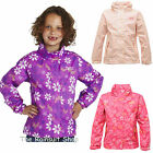 REGATTA LISA WATERPROOF GIRLS BREATHABLE RAIN COAT JACKET AGE 3-12 YRS