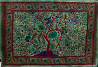 4Colour DOUBLE ORIENTAL LANDSCAPE Hippy THROW Sofa BEDSPREAD Wall hanging TREE