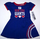 Nwt New York Giants NY Football NFL Logo Dress Panty Blue Red Nice Cute Girl