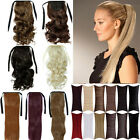 Wrap Around Ponytail Clip In Hair Extensions One Piece real hot stylish AMM4
