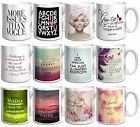 QUOTE SAYINGS ABOUT LOVE, LIFE, HEART QUIRKY RETRO MUG CUP - Xmas Gift