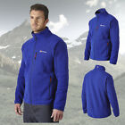 Berghaus Men's Fortrose 200 Full Zip Fleece Jacket - Intense Blue - New