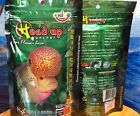 OKIKO HEAD UP HUNCHER FOR FLOWER HORN FISH FOOD SIZE M  HIGH CALCIUM PROTIEN