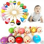 Wooden Wood Maraca Kid Kids Child Musical Instrument Rattle Shaker Party Toy