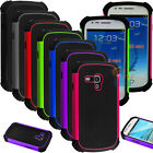 For Samsung Galaxy S3 S III Mini i8190 Shockproof Hybrid Case Cover +Stylus