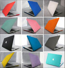 2in1 Matt Rubberized Hard Case Cover For Macbook air pro 11 13 15 '' inch