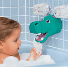 Hippo or Elephant Bath Tub Faucet Spout Cover Protector Guard & Bubble Dispenser