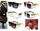NEW CELEBRITY STYLE CHUNKY GOLD LINK CHAIN SUNGLASSES #1