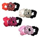 NEW LADIES GIRLS PACK OF 3 PONY TAIL HAIR SCRUNCHIE SCRUNCHY ELASTIC BOBBLE